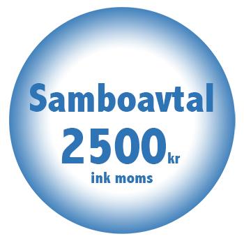 Samboavtal online billigt fastpris 2500kr